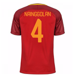 Trikot 2017/18 AS  Roma 2017-2018 Home (Nainggolan 4) Kinder