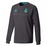Sweatshirt Real Madrid 2017-2018 (Schwarz)