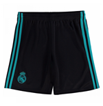 Shorts Real Madrid 2017-2018 Away (Schwarz)