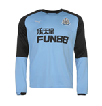 Sweatshirt Newcastle 2017-2018 (Blau)
