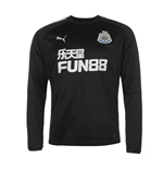 Sweatshirt Newcastle 2017-2018 (Schwarz)