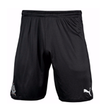 Shorts Newcastle 2017-2018 Home (Schwarz)