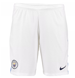 Shorts Manchester City FC 2017-2018 Home (Weiss)