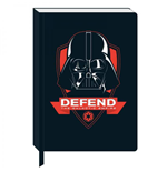 Star Wars A5 Notizbuch Darth Vader Icon