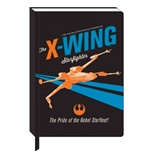 Star Wars A5 Notizbuch X-Wing Icon