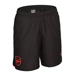 Shorts Arsenal 2017-2018 (Schwarz)
