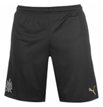 Shorts Newcastle United 2017-2018 Third (Schwarz)