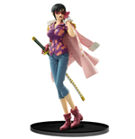 One Piece SCultures Figur Big Zoukeio 6 Tashigi 16 cm