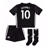 Trikot 2017/18  Manchester United FC 2017-2018 Away (Rooney 10) Kinder