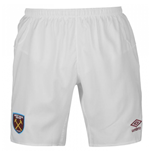 Shorts West Ham United 2017-2018 Home (Weiss)