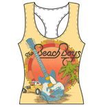 The Beach Boys Top für Frauen - Design: All-over