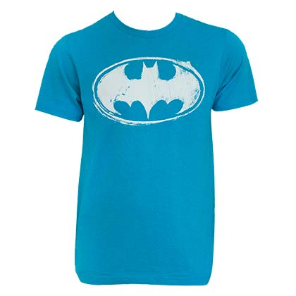 T-Shirt Batman Aqua