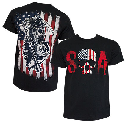 T-Shirt Sons of Anarchy Patriotic