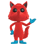 Dr. Seuss POP! Books Vinyl Figur Fox in Socks (Flocked) 9 cm