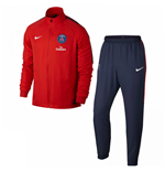 Trainingsanzug Paris Saint-Germain 2017-2018 (Rot)