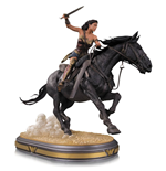 Wonder Woman Movie Deluxe Statue 1/6 Wonder Woman on Horseback 45 cm --- BESCHAEDIGTE VERPACKUNG