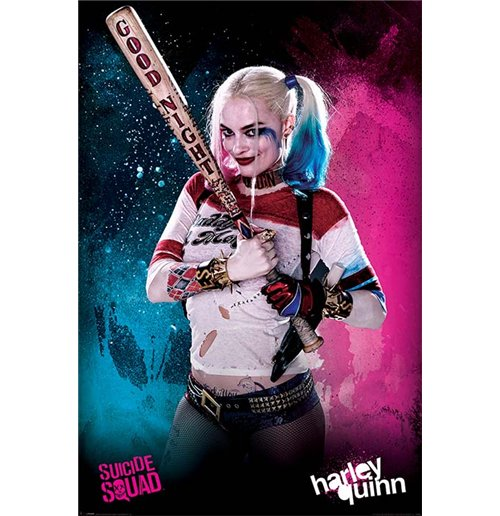 Poster Suicide Squad - Harley Quinn. Grosse: 61 x 91,5 cm.