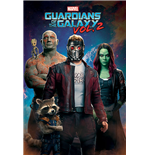 Poster Guardians of the Galaxy Vol. 2 - Characters in Space - 61 x 91,5 cm.