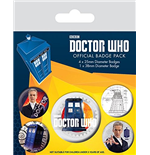 Brosche Doctor Who  271719