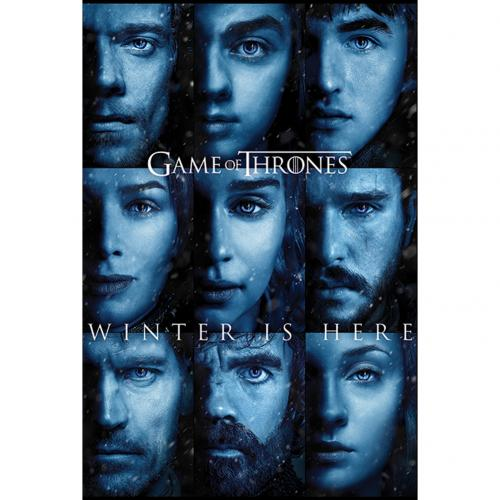 Poster Game of Thrones (Game of Thrones) Winter is Here
