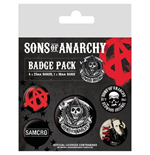 Brosche Sons of Anarchy Set