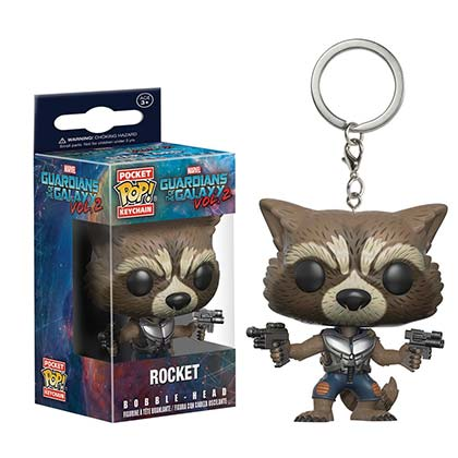 Schlüsselring Guardians of the Galaxy Rocket Raccoon