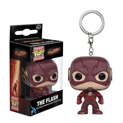 Schlüsselring Flash TV Mini Funko