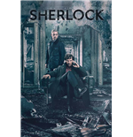 Poster Sherlock - Destruction - 61 x 91,5 cm.