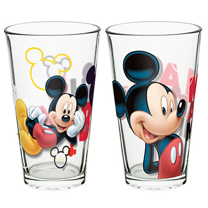 Glas Mickey Mouse