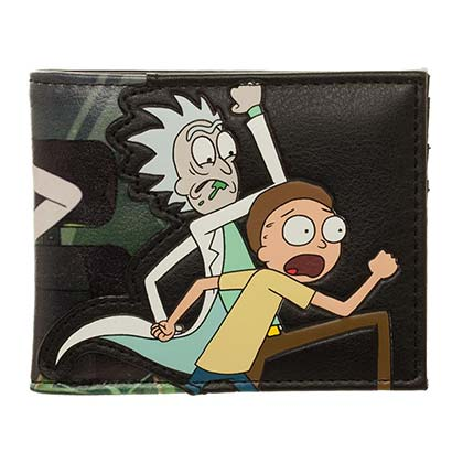 Geldbeutel Rick and Morty