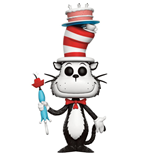 Dr. Seuss POP! Books Vinyl Figur Cat in the Hat with Cake & Umbrella 9 cm