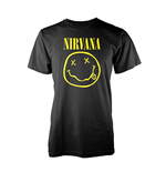 T-Shirt Nirvana Smiley Logo