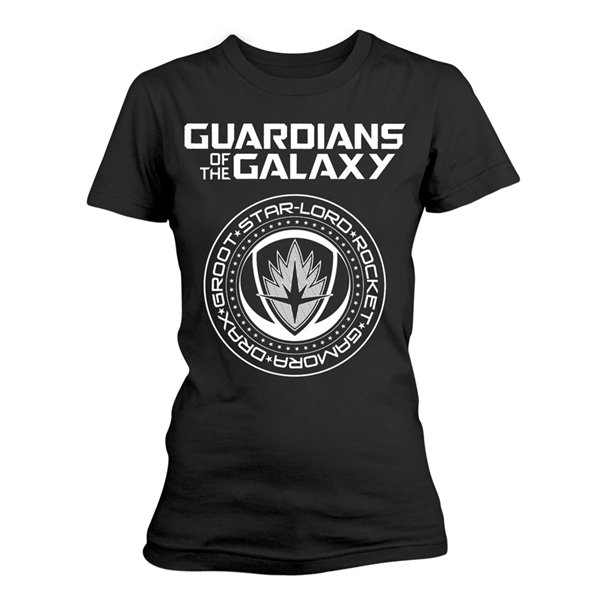 T Shirt Guardians Of The Galaxy Seal Frauen F 252 R Nur Chf 19