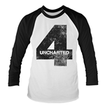 T-Shirt Uncharted 4 Distressed