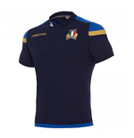 Polohemd Italien Rugby 2017-2018