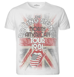 The Rolling Stones T-Shirt für Männer - Design: North American Tour 1981