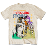 T-Shirt The Rolling Stones Mick & Keith Watercolour Stars.