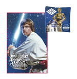 Star Wars Kissen & Fleecedecke Set Luke Skywalker & C-3PO & R2-D2