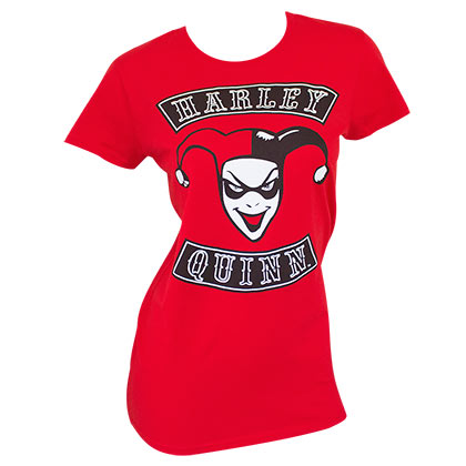 T-Shirt Harley Quinn red Ladies