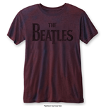 The Beatles T-Shirt für Männer - Design: Drop T Logo