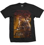 T-Shirt Star Wars  Episode VII Chewbacca Composition