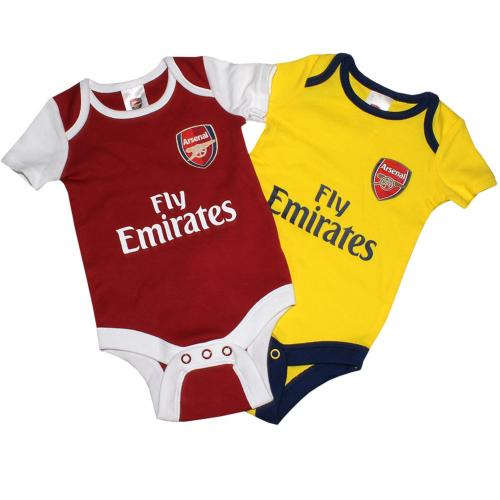 Pack Body Baby Arsenal 3/6 Monate