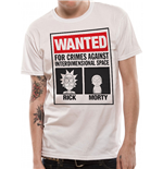 T-Shirt Rick and Morty - Wanted