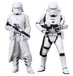 Star Wars Episode VII ARTFX+ Statuen 2er Pack First Order Snowtrooper & Flametrooper 18 cm