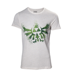 T-Shirt The Legend of Zelda - Zelda Hyrule Nappy in weiss