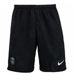 Shorts Paris Saint-Germain 2017-2018 Third (Schwarz)