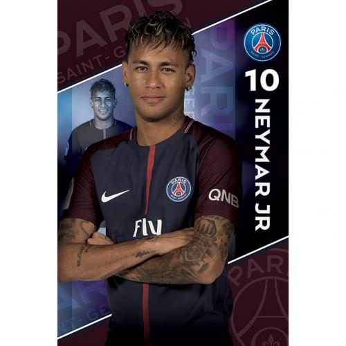 Poster Paris Saint-Germain Neymar 10
