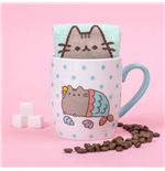 Pusheen Tasse mit Socken Mermaid
