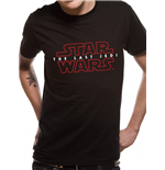 T-Shirt Star Wars  Viii The Last Jedi - R2D2 Lines
