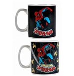 Marvel Comics Tasse mit Thermoeffekt Spider-Man